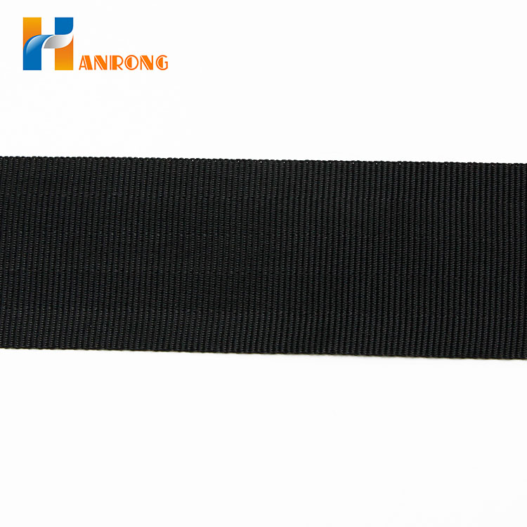 OEM High Strength Durable Polyester Seat Belt Webbing
