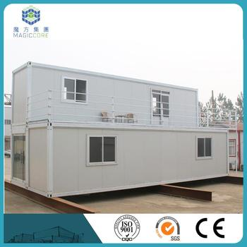 40ft Prefab Shipping Container Homes For Sale High Level Fast Install Light Steel Structure
