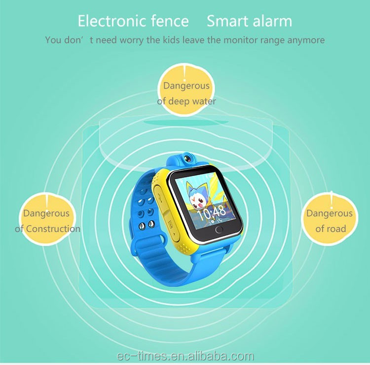 Smart watch U8 Kids Safe GSM GPS Tracker SIM For Children Phone SOS Watches for iOS Android Alarm Smartwatch