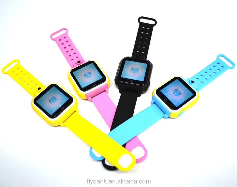Baby watch 3G kids smart watch Q75 children kids safety SOS gps tracking smartwatch phone with camera