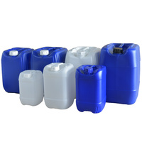 transparent 25 litre 20l hdpe plastic jerry can with cap Oil Water Carrier Container