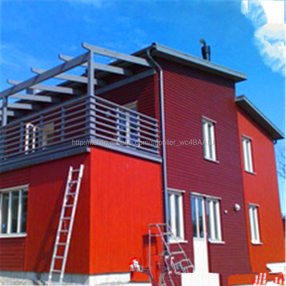 North America style prefab villa prefabricated house with steel structure