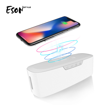 Eson Style fast wireless charger  gadget amplifiers power subwoofer mini home theatre system ibastek Bluetooth Speaker