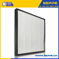 Washable nano fiber HEPA filter for fresh air system
