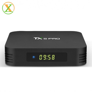 Hot selling tv android box 4k TX5 pro 4gb 32gb S905x2 dual wifi google play store app download android tv box