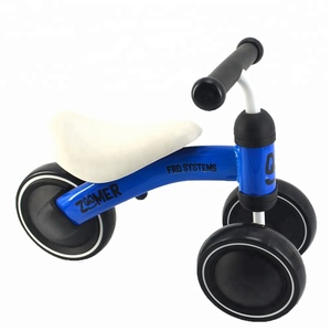 Made in China 3 Wheel Foot Pushed no Pedal Kids Ride on Toy Training Balance Bike
