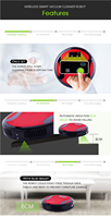 2017 auto-charging wireless cleaner HOTTEST! robot parts vacuum to make your life easy