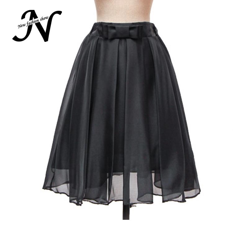 35d1e8e0c89 ... high waist long skirt m... Get Quotations · Skirts Women Summer Style  Solid Sheer White Gray Blue Black Flared Skirt New Fashion Ball Gown