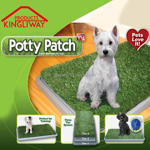 China supplied new design pet potty puppy potty grass mat