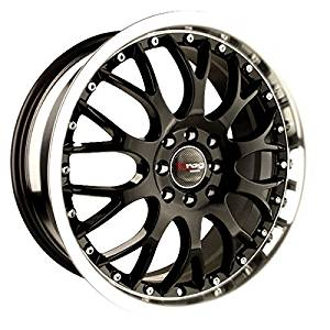 Drag Wheels DR-19 16x7/ 4x100/ 4x114.3 Gloss Black rims