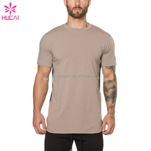 OEM factory custom Apparel men workout t-shirts clothing sports t shirt for wholesale