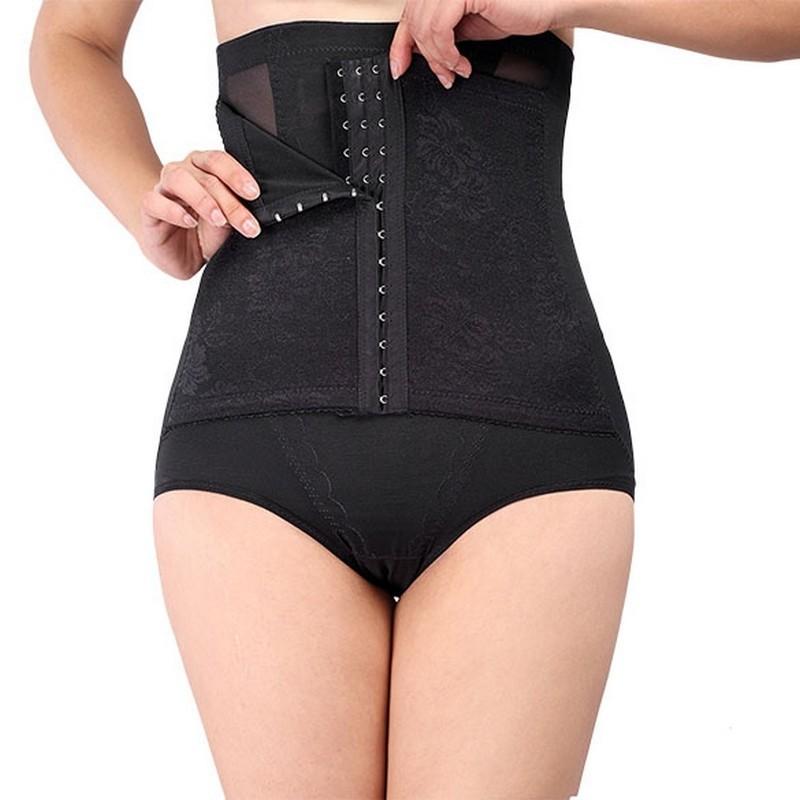 AOBRITON Women Control Panties Shapers High Waist Shapewear Shorts Women Underwear Postpartum Belly Wrap Tummy Shaper