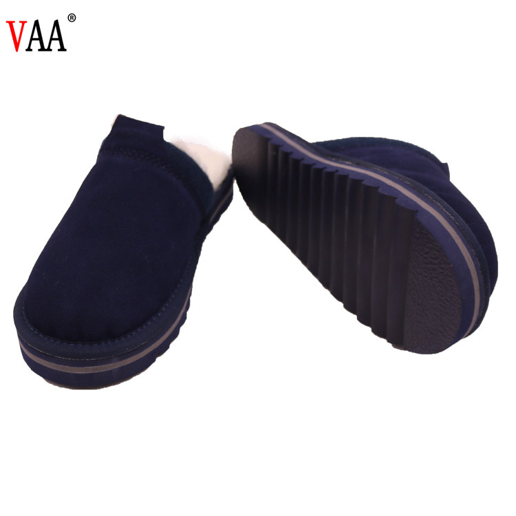 CF-049 Winter Manufacturer Real Wool Classical Style New Fashion And Popular Indoor Shoes Winter 2018 Slippers