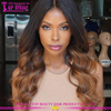 #1b/33 color ombre lace front wig body wave 13*6 size human hair lace wig new design human hair lace front wig
