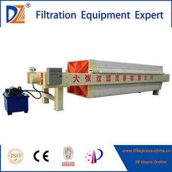 PLC chamber automatic filter press model made in china