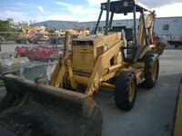 Caterpillar 426B Backhoe 4x4 Extended Hoe