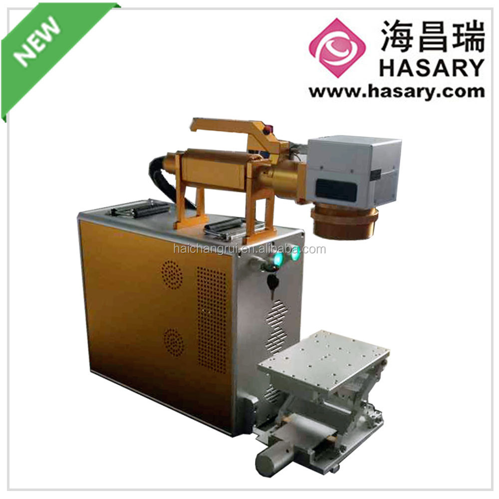 Best selling electronic switchgear portable fiber laser marking machine with air cooling system