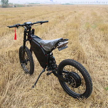 Super power stealth bomber 72v 5000w electric bike the fastest electric road bike in china