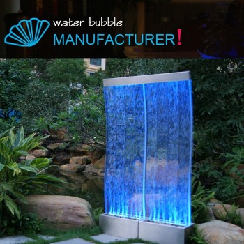 Water bubble wall s stylefloor standing water bubble panel with water bubble wall s stylefloor standing water bubble panel with curved panel aloadofball Image collections