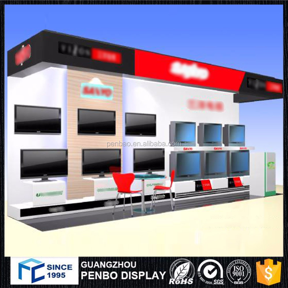 2016 new model wooden wall mount lcd tv cabinet with showcase