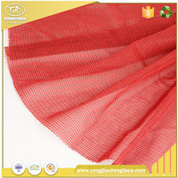 YJC 3d breathable polyester pvc air mesh fabric and textile for sports shoes