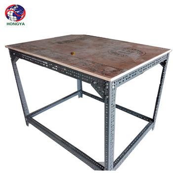 Slotted steel angle iron free tarzan slots