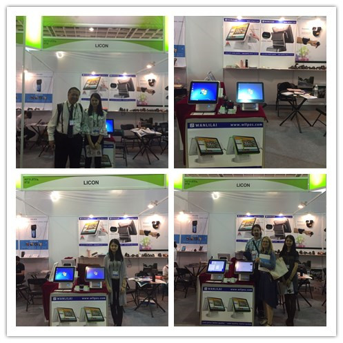 Touch Screen POS system restaurant ordering machine with 58mm thermal printer supermarket cashier equipment POS terminal