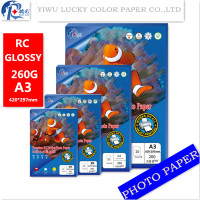 260G A3 A4 5R 4R INKJET HIGH GLOSSY RC PHOTO PAPER