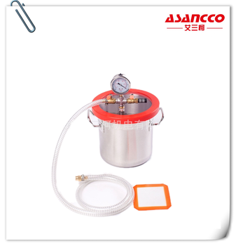 2gallon 6l 20x20cm Vacuum Degassing Chamber With Polycarbonate Lid