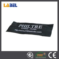 Brand name men woven clothing label names