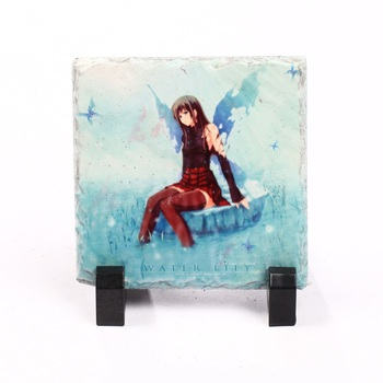 Most Popular blank sublimation rock slate photo frame stone for wedding gift