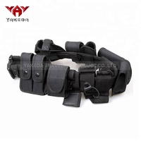 Yakeda wholesale custom combat utility army police duty military tactical security nylon belt with holsters