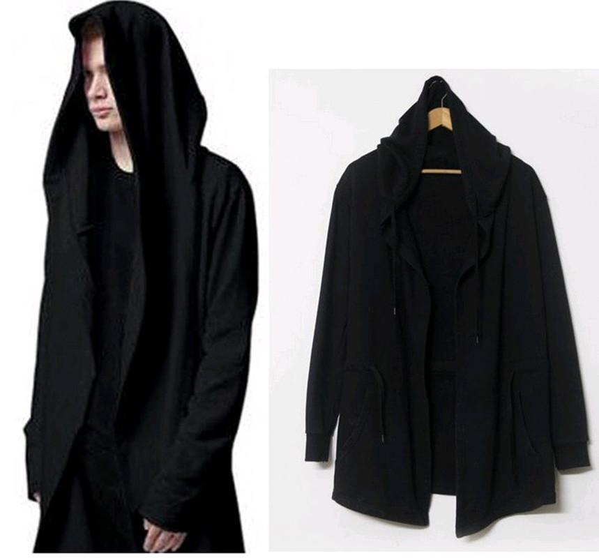 Long hoodies for men
