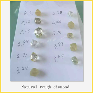 Natural rough diamond with low price