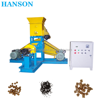 pakistan mini grinding extruder processing pellet poultry chicken floating fish feed making feed machine
