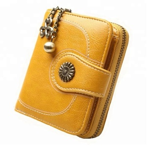 Custom woman PU leather wallet,fashion lady wallet,cheap price pocket coin purse zip card holder wallet wholesale