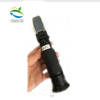 brix 0-32% refractometer function of sugary solution test