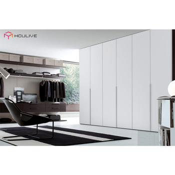 Edge Pull Handle Style Modern Luxury 4 Door Bedroom Furniture Closet/  Wardrobes Design - Buy 4 Door Wardrobe,Closet Design,Luxury Wardrobes  Product on ...
