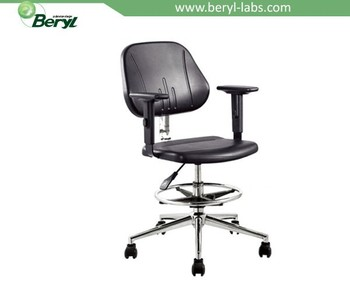 Height Adjustable Lab Chair Lab Stool Chairs With Armrest