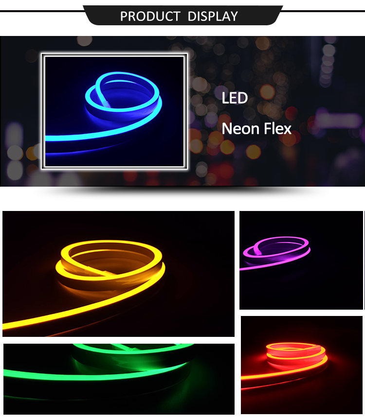 Wholesale OEM Outdoor Advertising LED Solid Neon Light Flexible
