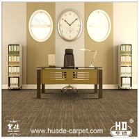 Commercial Soundproof Anti-Slip PU PVC Carpet Tiles 12X12