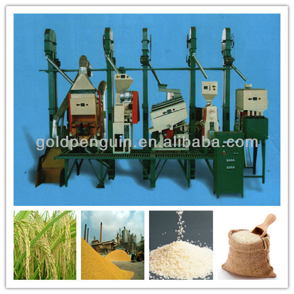 QIE 2013 New Complete Rice Milling Plant