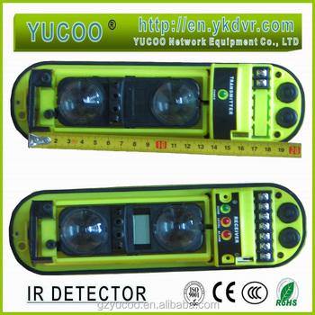 Two Beams Senser Outdoor & Indoor Active Infrared Detector Sensor ...