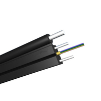 Factory price 1,2 Core FTTH G657A1 G657A2 Flat Drop Fiber Optic Cable