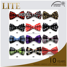 Reasonable & acceptable price colorful neck bow tie