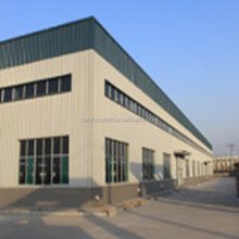 Industrial hall steel structure prefab metal frame warehouse