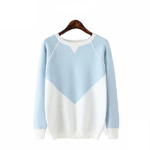 A Forever Fairness New Model Computer Knitted Korean Sweater