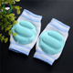 Wholesale baby knee pads warm adjustable safty anti slip kids knee pads protector