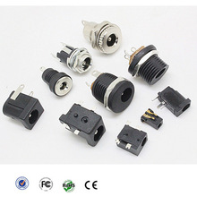RoHS and CE certificate 5.5mm 2.1mm dc power jack plug connector
