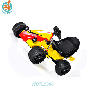 WDTL5388 Ride On Car Inflatable Wheels Kids Car Foot Pedal Go Kart Seats